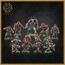 CHAOS TEAM WM - Willy Miniatures