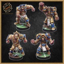 EGYPTIAN MUMMIES PACK WM - Willy Miniatures