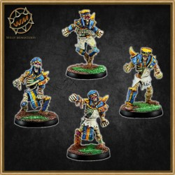 EGYPTIAN SKELETONS PACK 1 WM - Willy Miniatures