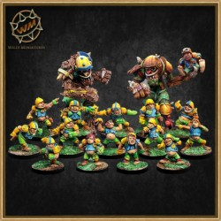 ULTIMATE HALFLING TEAM WM - Willy Miniatures