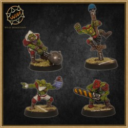 Equipo goblin WM - Willy Miniatures
