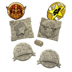 Dwarven markers + ball pack SP Miniatures