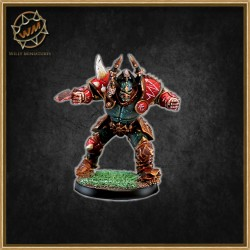 Chaos Leader Star Player WM - Willy Miniatures