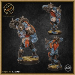 Troll Star Player WM - Willy Miniatures