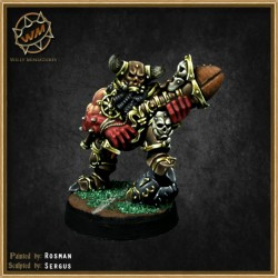Chaos dwarf with blunderbuss WM - Willy Miniatures