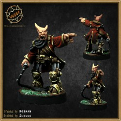 Chaos dwarf coach WM - Willy Miniatures