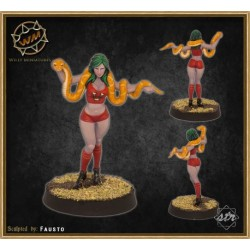 Vampire cheerleader WM - Willy Miniatures