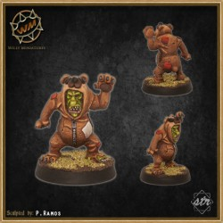 Gob bear WM - Willy Miniatures