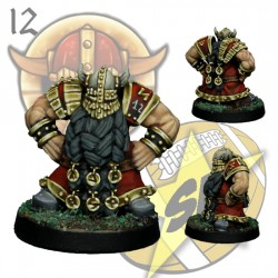Dwarf Blocker 6 SP Miniatures