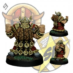 Dwarf Blocker 3 SP Miniatures