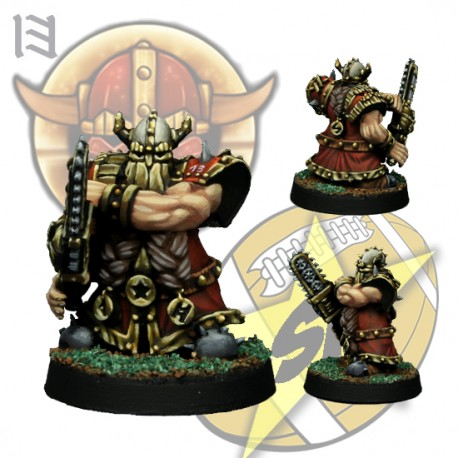 Star Player Motosierra enano SP Miniatures