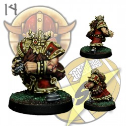 Dwarf Bombardier Star Player SP Miniatures
