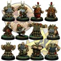 Basic Dwarf Team x12 SP Miniatures