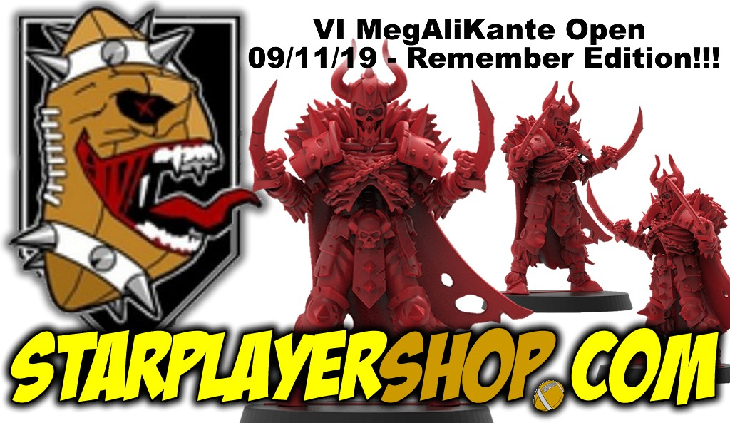 VI MegAliKante Open - 09/11/19 - Remember Edition!!!